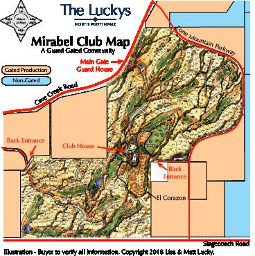 Mirabel Club Map