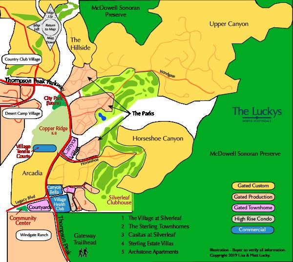 Silverleaf Village Map