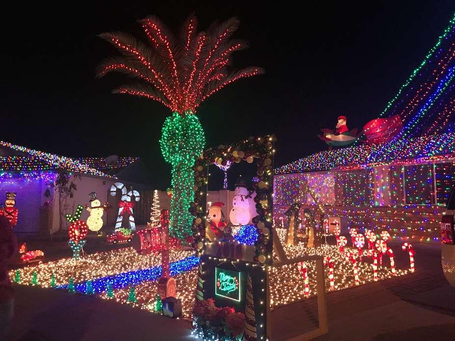 Holiday Light Tour | December 1st - 31st